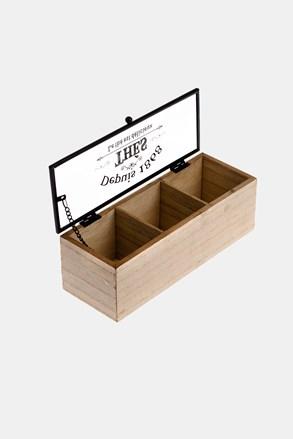 Pudełko na herbatę małe
