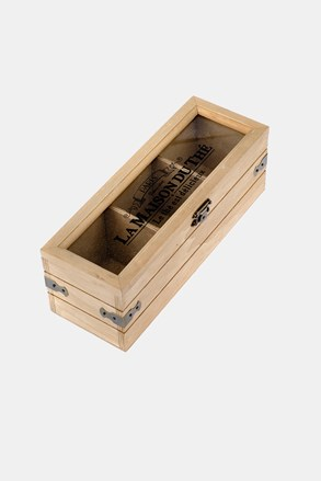 Drewniane pudełko na herbatę małe