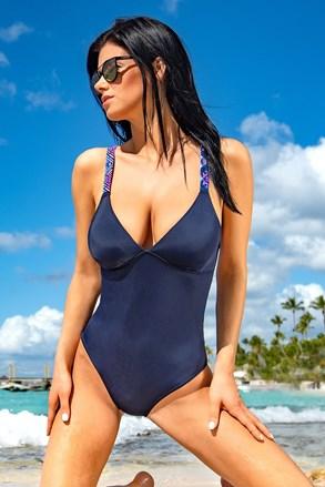 Jednoczęściowy kostium kąpielowy Kamala Blue