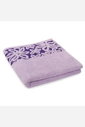 Ręcznik Fiore fioletowy
