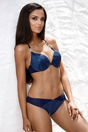 Dwuczęściowy kostium kąpielowy Shiny Blue