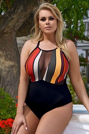 Jednoczęściowy damski kostium kąpielowy Lisa
