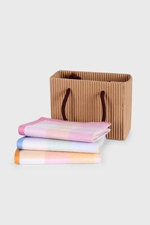 Komplet prezentowy chusteczek higienicznych Stripe