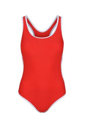 Jednoczęściowy damski kostium kąpielowy Alyssa Red