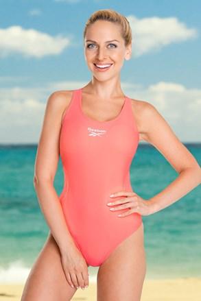 Jednoczęściowy strój kąpielowy Reebok Lallie Coral