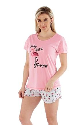 Damska piżama Flamazing krótka