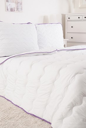 KOMPLET poduszka i kołdra Lawenda