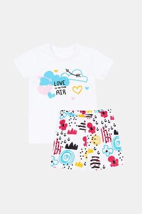 Dziewczęca piżama Love Art