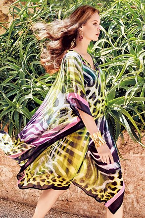 Sukienka plażowa Aura Print