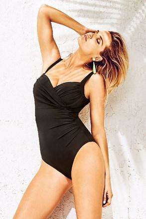 Jednoczęściowy włoski modelujący kostium kąpielowy Anna