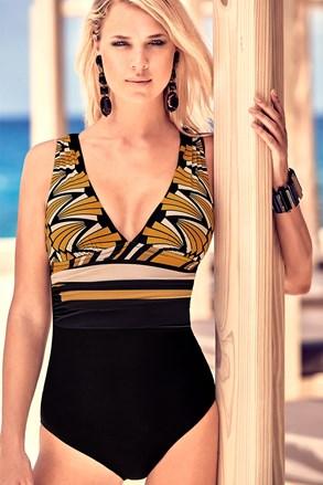 Modelujący włoski jednoczęściowy kostium kąpielowy Emilia