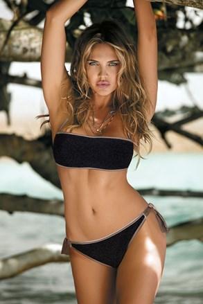 Dwuczęściowy damski kostium kąpielowy bikini Mia Black