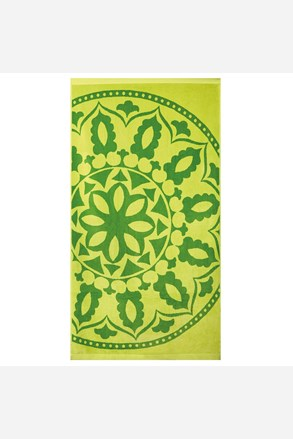 Ręcznik plażowy Mandala zielony
