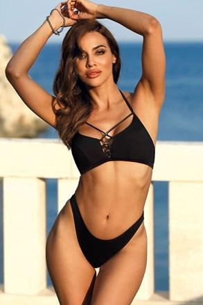 Górna część damskiego kostiumu kąpielowego Marbella Black