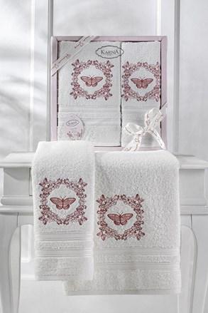 Podarunkowy komplet ręczników Cream