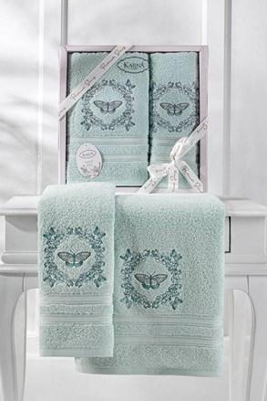 Podarunkowy komplet ręczników Menthol