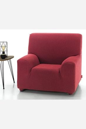 Pokrowiec na fotel Milos czerwony