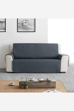 Narzuta na sofę dwuosobową moorea szara