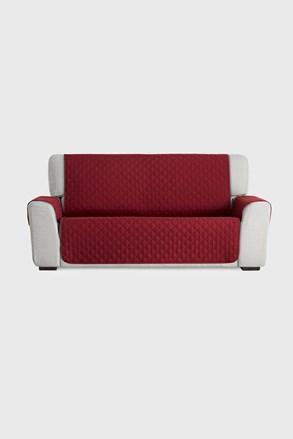 Pokrowiec na sofę trzyosobową Moorea czerwony