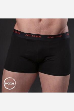 Męskie bokserki JOLIDON Silk Touch Black