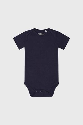 Chłopięce body z krótkim rękawem Baby niebieskie