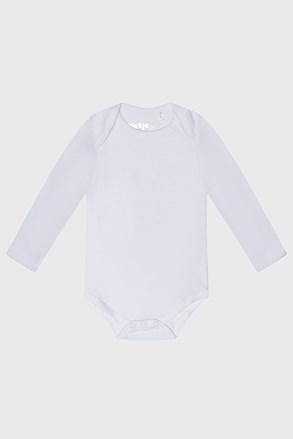 Dziecięce body z długim rękawem Baby białe