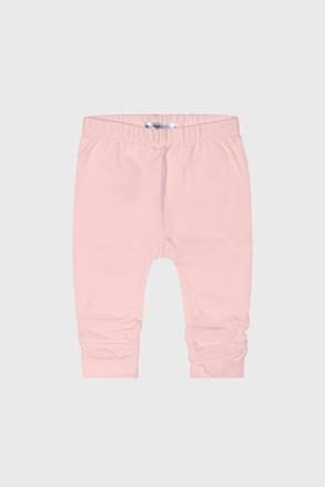 Dziewczęce spodnie dresowe Babies Day różowe