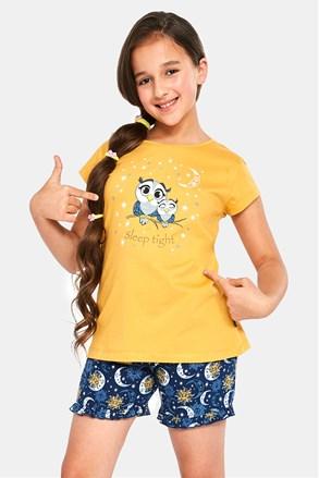 Dziewczęca piżama Owls