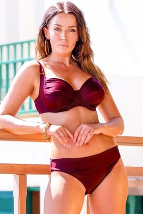 Dwuczęściowy damski kostium kąpielowy Chloe Grape