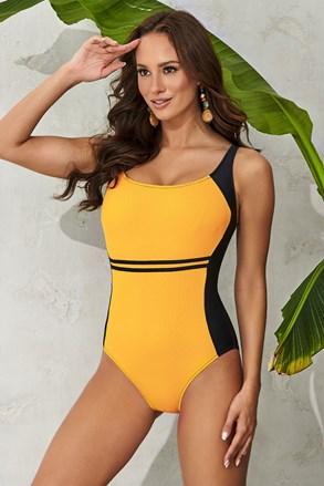 Jednoczęściowy kostium kąpielowy Clara Yellow