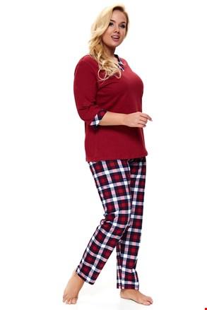 Damska piżama plus size Lady in Red