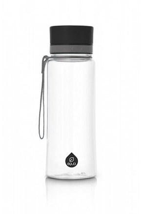 Plastikowa butelka EQUA Plain Black 600 ml