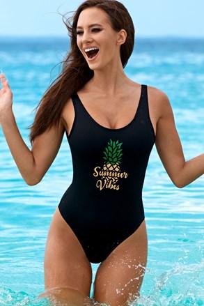 Jednoczęściowy kostium kąpielowy Pamela bez fiszbinów