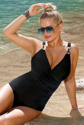 Jednoczęściowy strój kąpielowy Paula Black