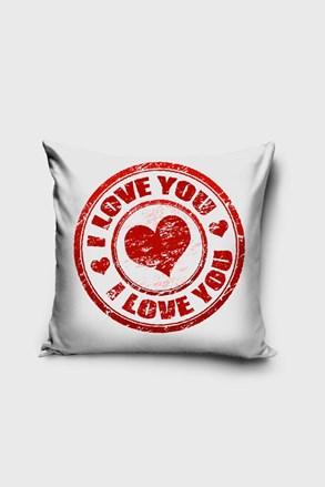 Poszewka na poduszkę Love You