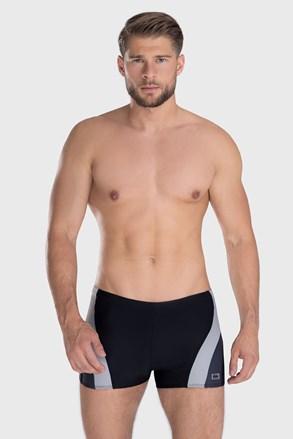Czarno-szare bokserki kąpielowe Philip