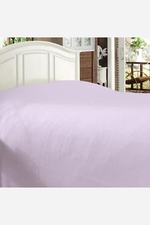 Luksusowa narzuta na łóżko Bamboo lawendowa