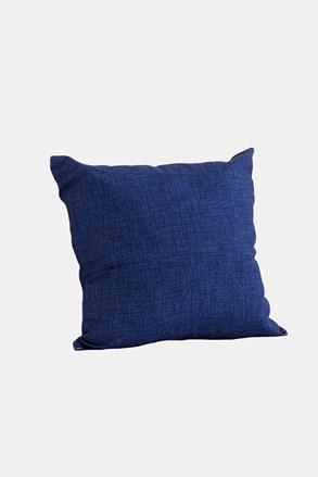 Poduszka dekoracyjna z wypełnieniem niebieska
