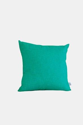 Poduszka dekoracyjna z wypełnieniem turkusowa