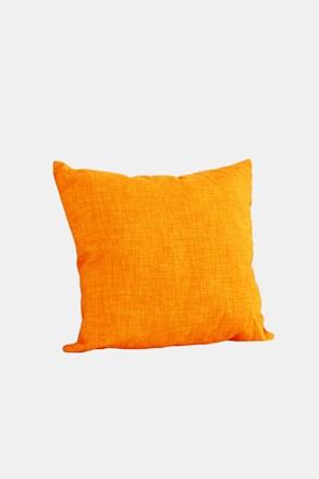 Poduszka dekoracyjna z wypełnieniem pomarańczowa
