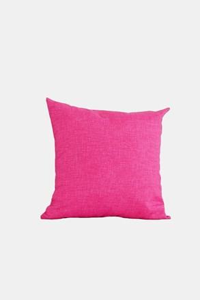Poduszka dekoracyjna z wypelnieniem różowa