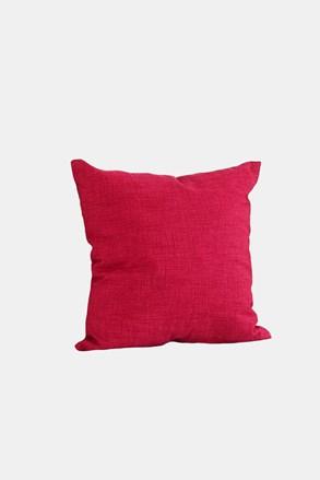 Poduszka dekoracyjna z wypełnieniem czerwona