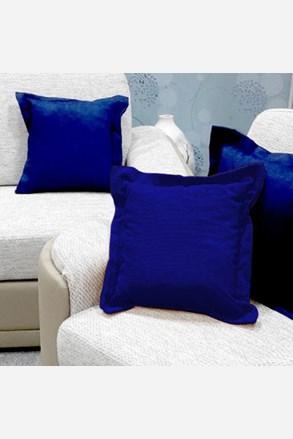 Poduszka dekoracyjna niebieska