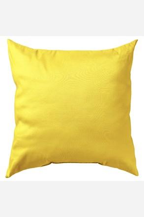 Poszewka na poduszkę Uni żółta