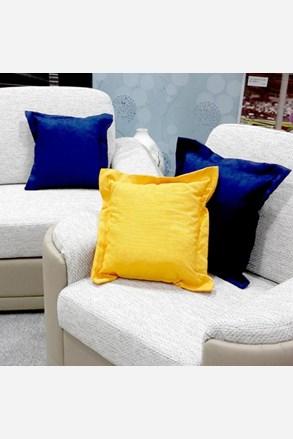 Poduszka dekoracyjna żółta