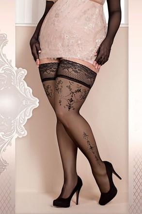 Luksusowe pończochy samonośne Soft Size 371