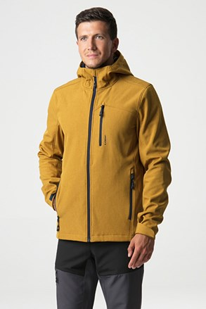 Żółta kurtka softshellowa LOAP Lecar