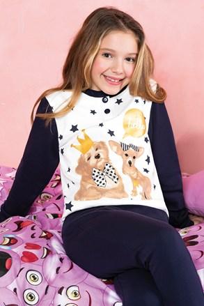 Dziewczęca piżama Hallo