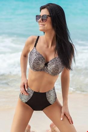 Dwuczęściowy damski kostium kąpielowy Wild z usztywnianym biustonoszem