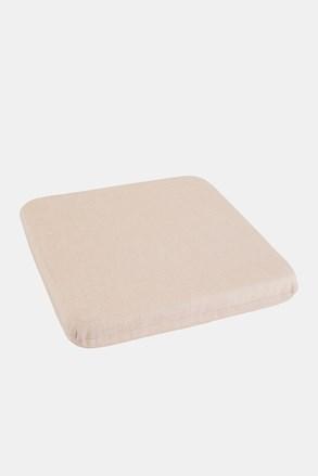 Poduszka na krzesło beżowa